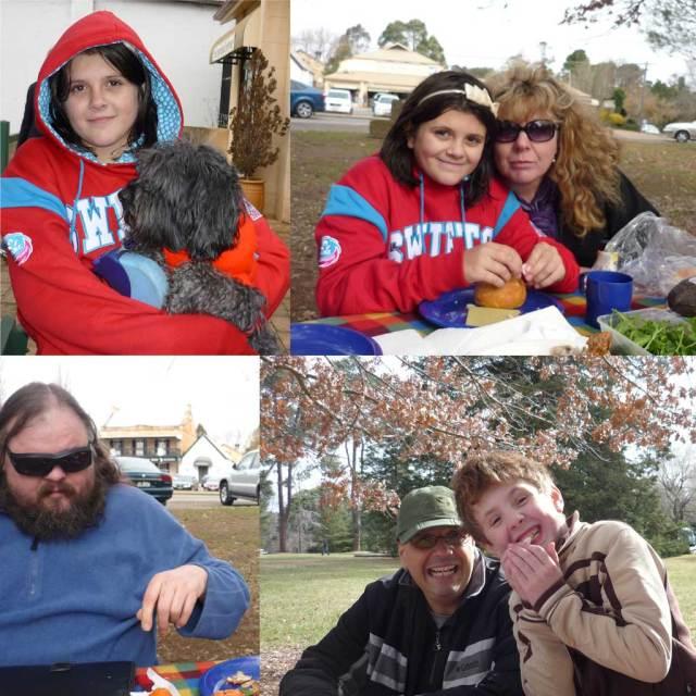 Amy & Coco; Amy & Fiona; Dac; Ricky & Daniel