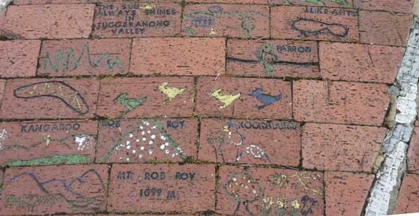 Another spot on the brick mural - transcript below