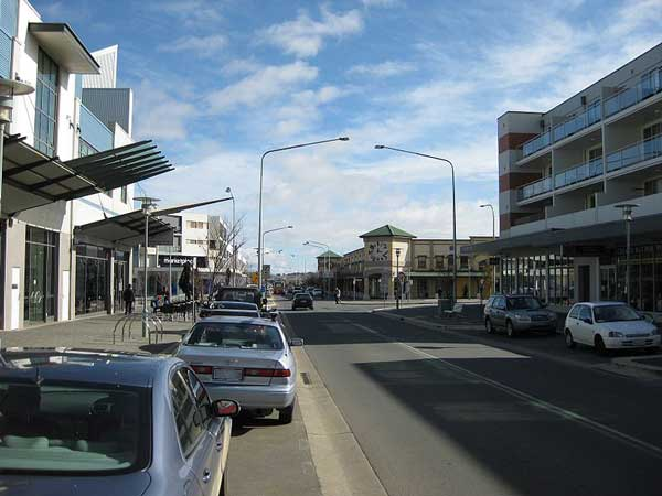 View of Hibberson Street West