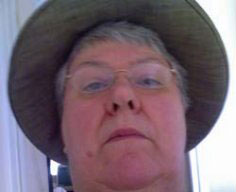 Ludicrous self-portrait taken on my mobile phone
